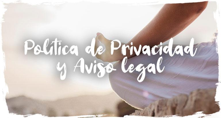 Política de Privacidad y Aviso Legal