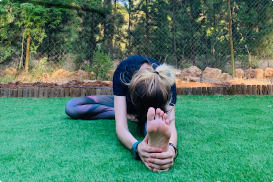Postura yin yoga